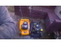 2 Petrol lawnmowers for sale