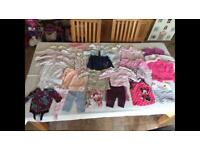 Baby girl clothes 0-3 and 3-6 months