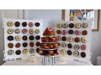 """Chocolate """"S'mores Bar Experience"""" & The Doughnut Wall"""