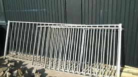 Galvanised Gates & Railings, Custom made, good quality.