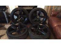 "Bmw fox racing alloy wheel 18"" inch"