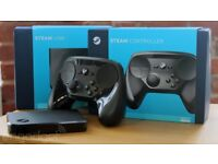 Steam link box and steam controller