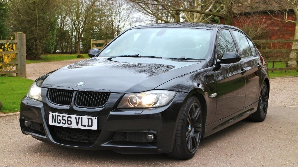 bmw 3 series 3 0 325d e90 m sport 4dr black diesel loaded with factory options fsh keyless. Black Bedroom Furniture Sets. Home Design Ideas