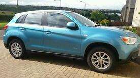 2010 Mitsubishi asx2 1.6 5dr 2wd great family car.