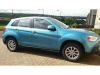 2010 Mitsubishi asx2 1.6 5dr 2wd fwd. great family car.