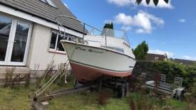 Boat + trailer for sale