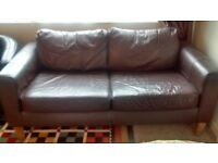 BARGAIN - 2 x 2 seater sofas plus armchair