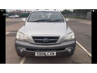 Kia Sorento 2.4 diesel Manual 5dr 4x4 silver 6 month warranty available