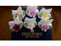 Coalport - 6 flower place settings for dinner parties
