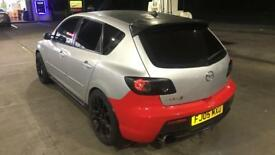 Mazda 3 mps rear bumper