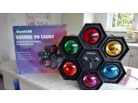 disco pod lights