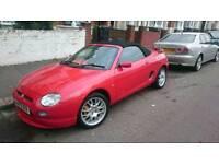 2000/V REG MG MGF CONVERTIBLE ** SUMMER CAR ** £1095