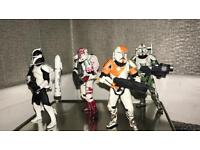 Star Wars elite clone troopers