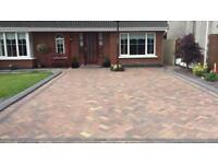 Building & landscaping builder fencing decking walls paving digger work drainage tarmac