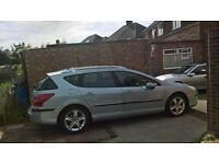 Peugeot 407sw 2.0 hdi 2006 only 50k miles