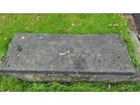 Free concrete slabs