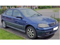 IDEAL NEW/LEANER/FAMILY CAR 2003 VAUXHALL ASTRA 1.6 LS PETRL MANUL MOT 12/18 DRVE AWAY BARGAIN £475