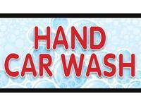 Home hand car wash service