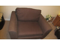2 seater arm chair / M&S Love seat