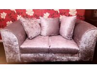 One 3 seater and One 2 seater. Great condition with 1 foot stools absolutely free.