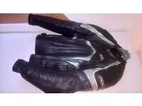 RSR Leather Motorcycle Jacket