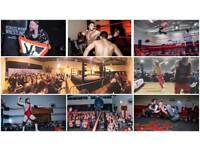 Live Family-friendly Professional Wrestling in Gilmerton