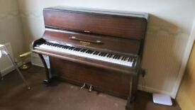 PIANO BY HARWOOD OF LONDON.