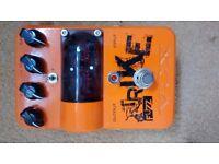 Vox trike fuzz guitar effects pedal