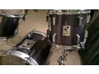 Vintage Sonor Performer Drum Kit with hardware