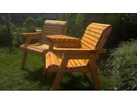 Garden Chair Love Seat *Free Delivery *