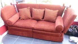 Superb 3 Seater Winged Parker Knoll Sofa. Used, but Great condition. No pets or smokers ever near it