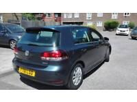 61 reg VW Golf 1.6 BlueMotion zero road tax excellent condition 5 door l