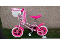 Little girl's bike