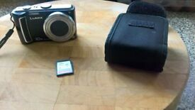 Panasonic Lumix DMC-TZ5 with 8gb memory card. NO CHARGER