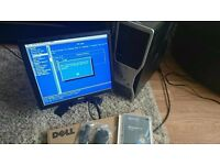 Dell T3400 PC with Dell monitor etc