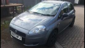 2007 Fiat Grande Punto 1.2 Only 71,000 Miles!! Low Insurance Group! Drive Away Today!