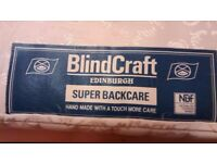 Free: King-size 'Super Back-care' mattress by Blindcraft