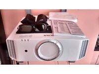 JVC DLA-X3 White 3D Projector GOLDEN SAMPLE AMAZING MINT 50,000:1 RS40 D-ILA