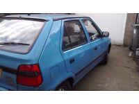 skoda felicia 1300 5/door hatch back