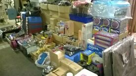 job lot of pet products - dog cat fish etc - new stock from shop closure £4000 worth