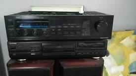 Trio KA-54 amplifier. 4 speaker output. 150W