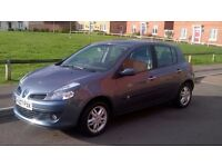 Renault Clio Dynamique 1 owner, non smoker, Serviced and MOT very good condition