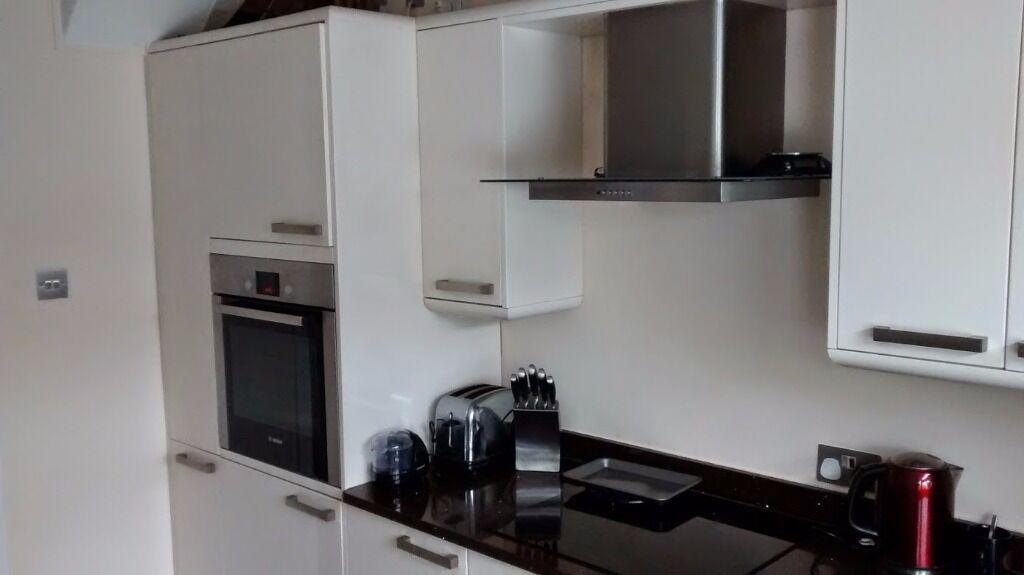 Howdens High Gloss Brown Kitchen Worktops