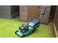 Petrol push mower hayter harrier 41