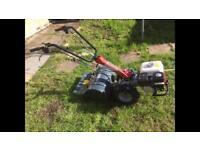 Rotavator Honda petrol engine