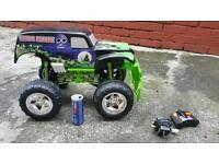 Radio control monster truck kids toy