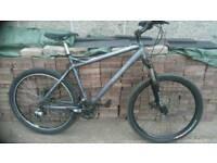 "Haro flightline sport 26"" alloy, disc brake mountain bike"