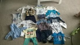 3-6 months bundle of baby clothes