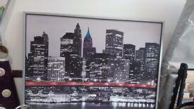 New York skyline picture