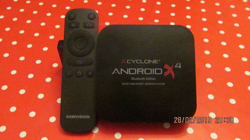 Sumvision Cyclone 4 Android Box   in Stepps, Glasgow   Gumtree